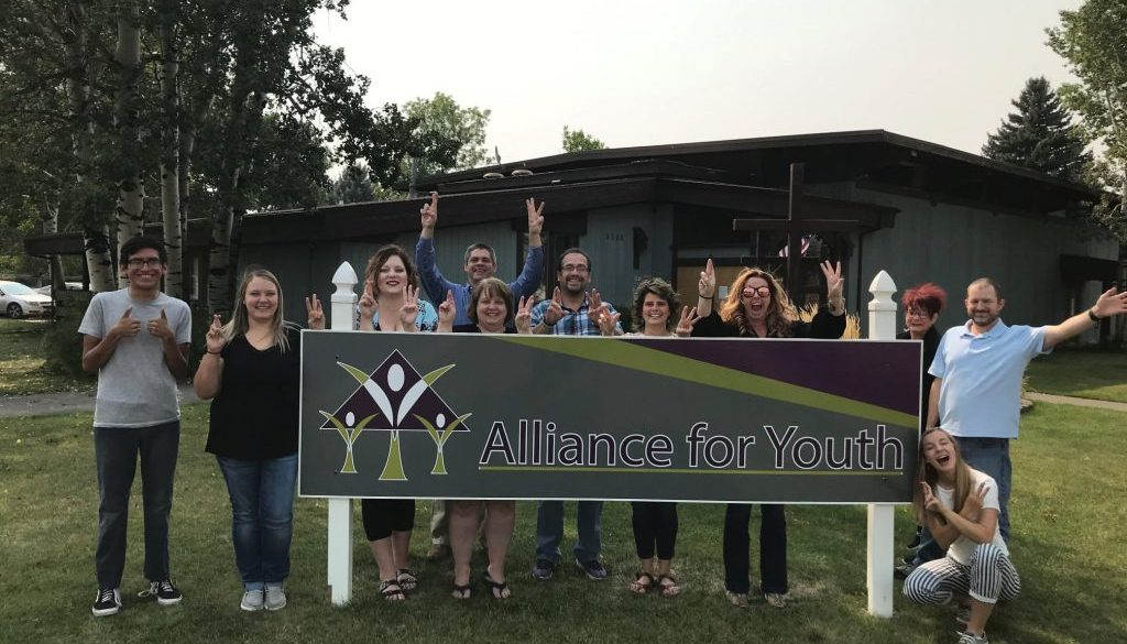 Alliance for Youth team photo
