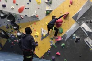 RFK rock climbing