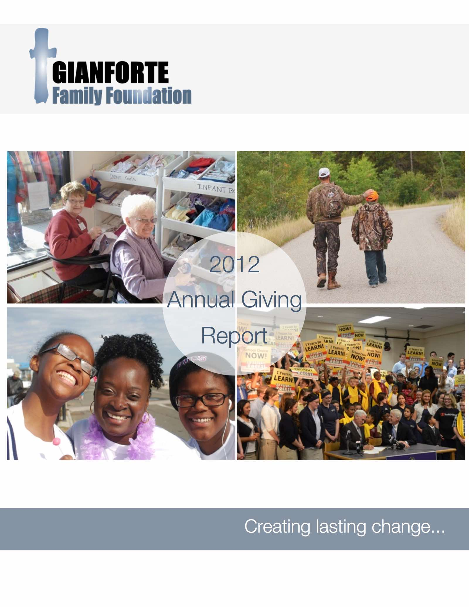Annual Giving 2012