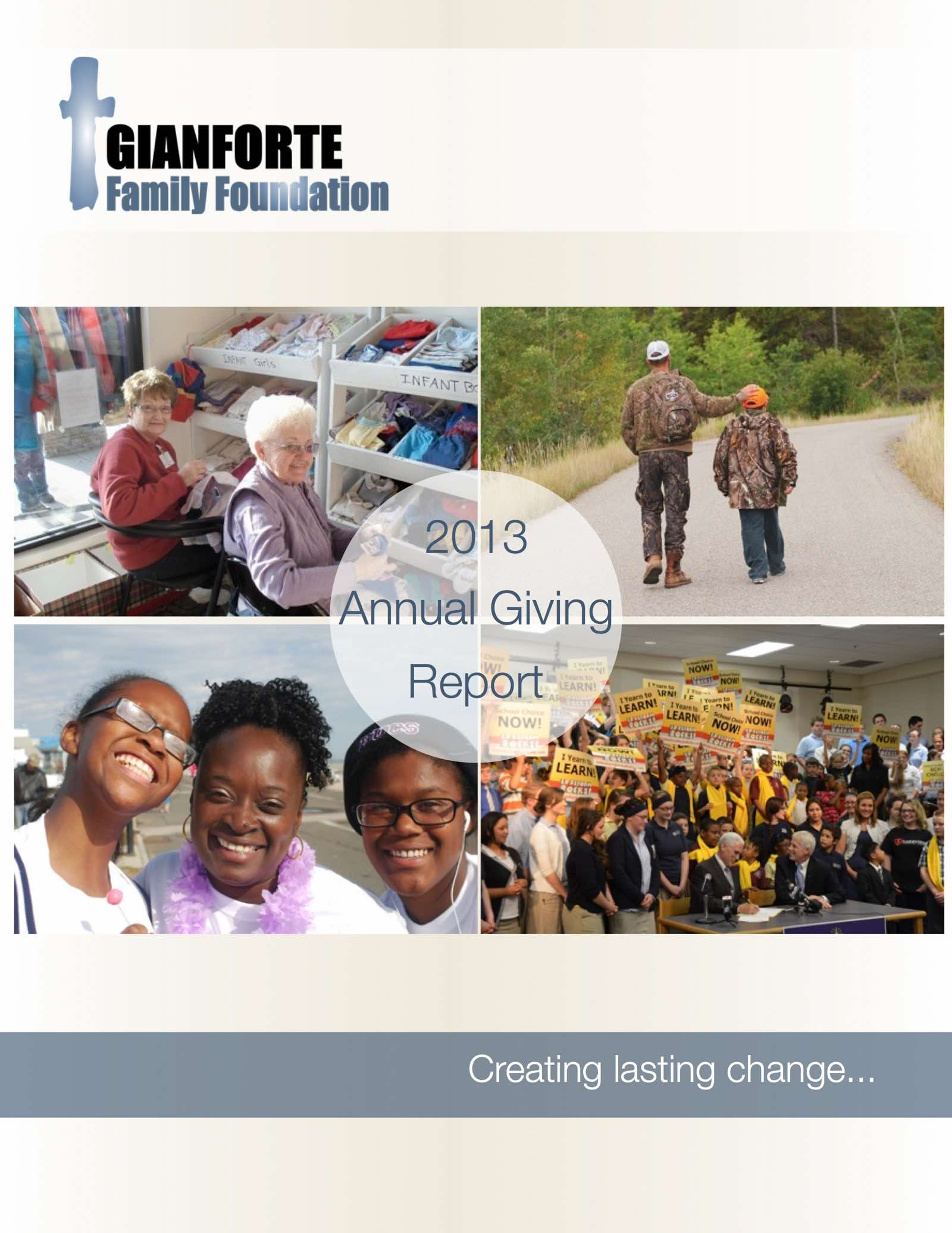Annual Giving 2013